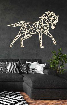 Metal Wall Decor, Metal Wall Art, Wall Art Decor, Easy Mandala Drawing, Geometric Tiger, Horse Stencil, Cut Out Art, Metal Art Projects, Tape Art