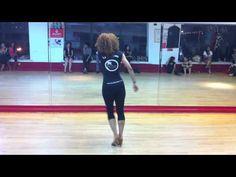 ▶ Ladies Bachata Styling 1 - La Alemana - YouTube