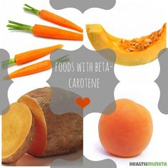 What foods are richest in beta-carotene?