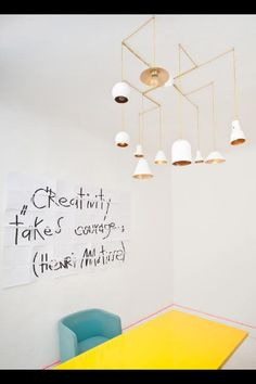 """""""Creativity takes courage"""". Love it"""