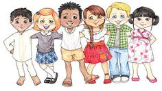 Darling Primary Clipart ~ Susan Fitch