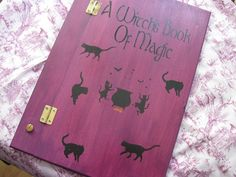 Book of Shadows? Looks like wood hinges and pins would make it easily expandable
