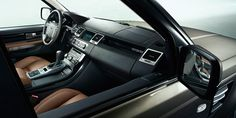 12 Model Year Range Rover Sport – Front seat leather interior