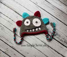Newborn Monster Hat Photo Prop 012 Months Boys by Babyinthehat, $24.00- I've actually ordered this! It was beautiful and this vendor was awesome!