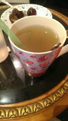 Natural home made laxative. Hot water. 1 tbs of honey. 3 tbs of apple cider vinegar. Some lemon juice and mint leaves.