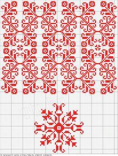 perfect pattern, see site - Magyar Népművészet II. Silágysági hímzések