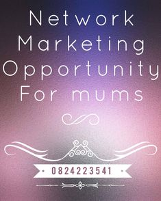 Network Marketing opportunity  Do you have a drive for success, are you ambitious and a go getter, are you willing to create your own business opportunities? If so then we may have the right financial business solution for you.  You need to have the following characteristics: - * Be passionate about making money. * Persistent in the pursuit of success. * A passion for people and helping others succeed.  No experience is necessary, we will provide you with helpful resources as well as… Marketing Opportunities, Business Opportunities, Create Your Own Business, Go Getter, Helping Others, Opportunity, How To Make Money, Success, Passion