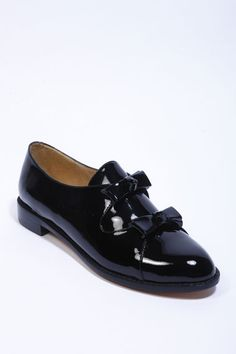 65d02dadbf3b F Troupe Patent Double Bow Shoe Image
