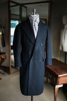 Heavy wool overcoat by B&TAILOR bntailor@naver.com
