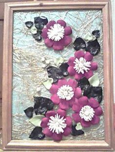 Amazing Handmade Home Decorations Recycling Leather Scraps.