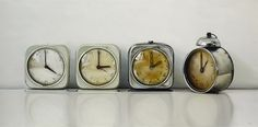 clocks..love these, stolen from  @my sparrow