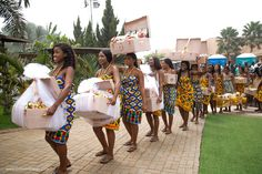 The Trad Wedding is a Celebration of Ghanaian Culture Kente Dress, African Maxi Dresses, Latest African Fashion Dresses, Black Wedding Makeup, Ghana Traditional Wedding, Lace Gown Styles, African Life, Ethnic Wedding, African Traditional Dresses