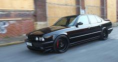 Chromatic black BMW