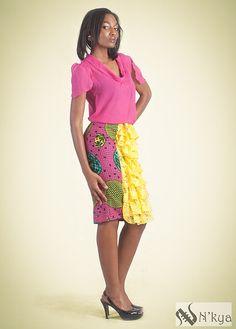 Nkya Designs Collection Dawn | Pagnifik. #Africanfashion #AfricanWeddings #Africanprints #Ethnicprints #Africanwomen #africanTradition #AfricanArt #AfricanStyle #AfricanBeads #Gele #Kente #Ankara #Nigerianfashion #Ghanaianfashion #Kenyanfashion #Burundifashion #senegalesefashion #Swahilifashion DK