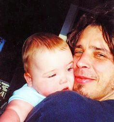 Chris Cornell & his daughter Lily