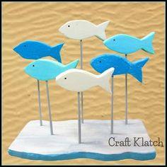 Craft Klatch ®️️️️: 56 Beachy Crafts and DIYs!