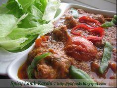 Pakistani Food Recipes: Spicy Lamb Karahi (Karahi Ghost)