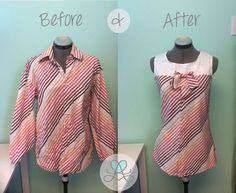 Men's Dress Shirt Refashion {A Pinspiration Project}