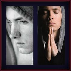 Two of my favorites of Marshall Mathers ~ (Eminem).