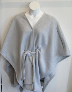 Shoulder Shirt Fleece Cape Post Surgery by ShoulderShirts on Etsy