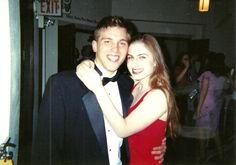 Me with my amazing friend Tom Bridegroom. RIP.