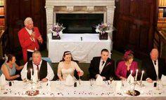 Traditional order of wedding speech - Sample wedding Speeches