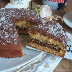Sweet Recipes, Cake Recipes, Cocoa, Torte Cake, Italian Desserts, Sweet Cakes, Pinterest Recipes, Sweet And Salty, Bakery