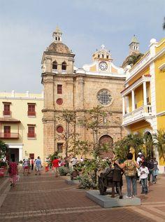 Iglesia de San Pedro Claver. Cartagena de Indias - Centro histórico