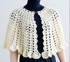 Delicadezas en crochet Gabriela: Capas patrones en crochet