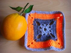 Ravelry: NatKing's Begonia block