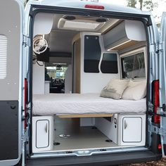 There are various specifications of vans accessible to suit a variety of distinct needs. The camper van will be referred to as a motor caravan. Kombi Trailer, Kombi Motorhome, Camper Trailers, Camper Diy, Camper Storage, Moto Home, Camping Vans, Camping Gear, Mini Van