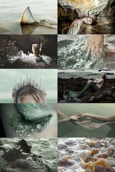 Discovered by B l u e e v y. Find images and videos about mermaid and sea on We Heart It - the app to get lost in what you love.