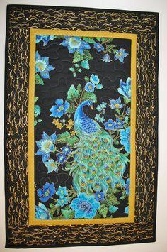 DIY Fabric peacock Wall Hanging - Bing Images