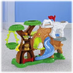 Little People Zoo Talkers Animal Sounds Zoo - Fisher-Price Online Toy Store $27.66     The Zoo Talkers animals go with this set. They make sounds when placed on a platform on the zoo.