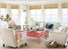 How About Chalky Pastels in Your Living Room?