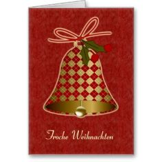 43 best german christmas cards images on pinterest german pineandchristmasbellcard german christmas greeting cards german m4hsunfo