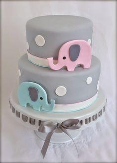 7b8fd61ae75991dcdce77c7cec76fe0f--elephant-birthday-baby-shower-cakes.jpg 736×1,027 pixels