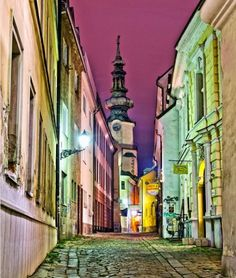 Bratislava – Quiet streets of the Old town  Photo by Marek Sevc