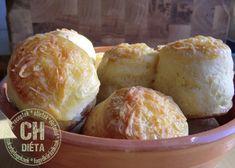 CH DIÉTA Túrós pogácsa szénhidrát tartalommal Muffin, Paleo, Dairy, Cheese, Cooking, Breakfast, Food, Cucina, Breakfast Cafe