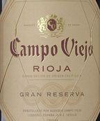 Campo Viejo Gran Reserva 2007 (750ML)