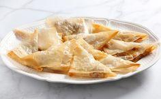 Fagottini di pasta fillo pere e gorgonzola, ricetta