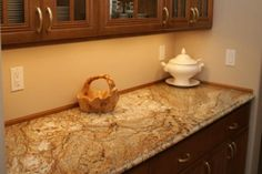 golden crystal granite kitchen gallery | Washington Marble Works: Gallery 31 photos Get a Free Estimate