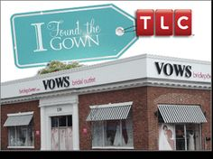 Watch the show on TLC - I Found The Gown Discount Designer Wedding Gowns for Sale VOWS Bridal Outlet,  130 Galen Street  Watertown, MA 02472,  877.332.2285