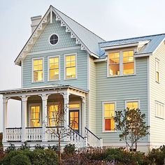 Southern Living House Plans cover every base for first-time homeowners. From modern farmhouse plans to cottage house plans, this collection is chock-full of inspiration. Southern Living House Plans, Simple House Plans, Beach House Plans, Cottage House Plans, Dream House Plans, English Cottage Style, Cottage Style Homes, Arch House, Modern Farmhouse Plans