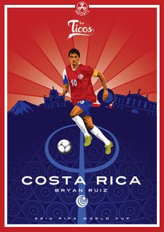 Costa Rica - Bryan Ruiz