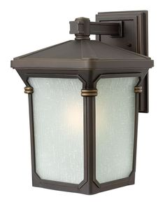 """Hinkley Lighting H1354-LED 16"""" Height LED Outdoor Lantern Wall Sconce from the S Oil Rubbed Bronze Outdoor Lighting Wall Sconces Outdoor Wall Sconces"""