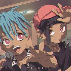 #xxxtentacion Dope Cartoon Art, Dope Cartoons, Cartoon Kunst, Cartoon Drawings, Anime Rapper, Rapper Art, Dope Kunst, Chris Brown Art, Gurren Laggan