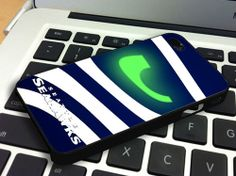 Seattle Seahawks NFL Personalized Case for iPhone by AutoCustom, $14.89