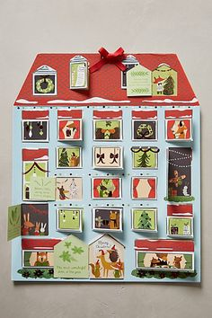 Cute advent calendar #anthrofave http://rstyle.me/n/sy42tnyg6