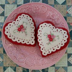 Knot Garden: Hearts